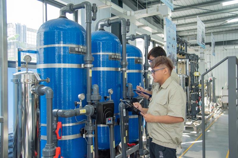 嘉藥有國家級再生水類產再生水類產線及配線下水道技能訓練基地
