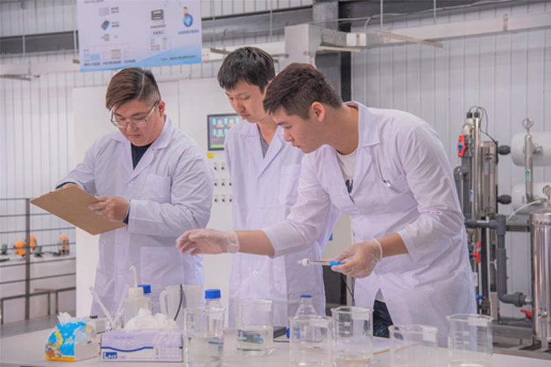 嘉藥環工系擁有全國唯一的再生水類產線與人才培育基地