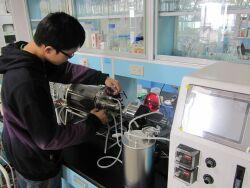Trial production solid fermentation tank