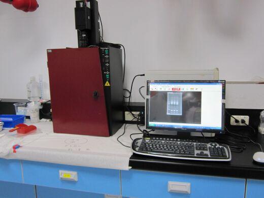 Electrophoresis film camera system