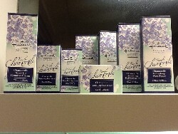 Hallmark Chamomile Series (2014). This is the first time the company has granted a license to have their cosmetic products produced in Taiwan.