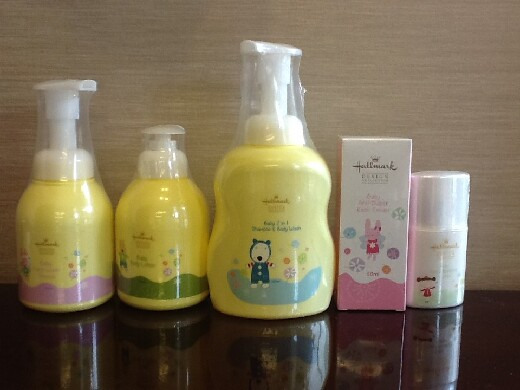 Hallmark Baby Range Series (2013). This is the first time the company has granted a license to have their cosmetic products produced in Taiwan.