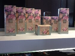Hallmark Otto Rose Series (2013). This is the first time the company has granted a license to have their cosmetic products produced in Taiwan.
