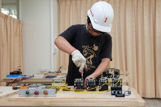 升降機電氣配線作業實作