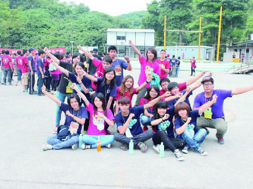 Student association activity for new students