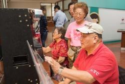 遊戲機健康促進跨國研究 - 樂齡長者一同體驗柏青哥(Pachinko)的趣味研究