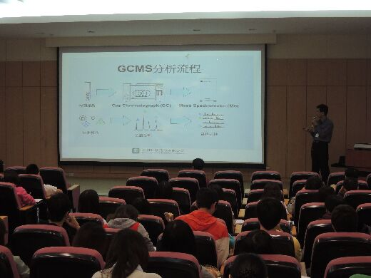 A presentation on Mass Spectroscopy and its Application in the Department of Medicinal Chemistry
