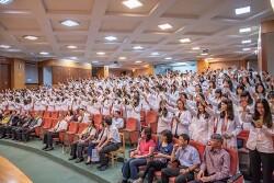 藥學系同學參加授袍典禮