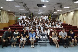 Gown Presentation Ceremony for students of the Department of Health and Nutrition