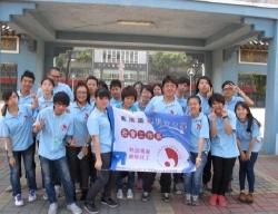 社工系學生參與福音小組得勝者志工隊至國小服務