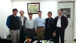 Scholars from Thailand visiting CNU