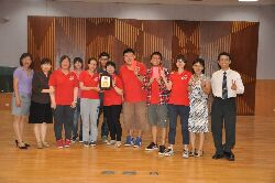 Students from the Department of Senior Citizen Service Management won third prize at the 2012 Elderly Health Promotion Activity Competition