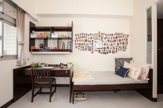 宿舍房間內部