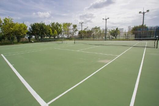 室外網球場