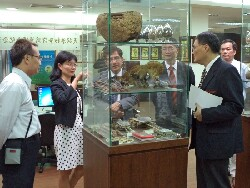A delegation of Thai scholars visits the Cooperation Center for Herb Development and Health Promotion