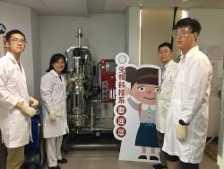實作場域計畫發酵儀器合照