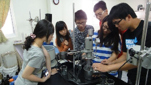 Cosmetics manufacture and analysis - a practical class in the special employment program
