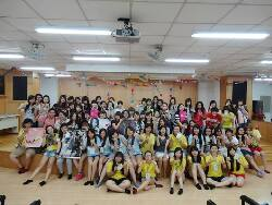 September 30, 2013: Group photo at the welcoming tea party for new students