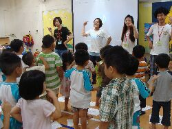 Elementary school health and hygiene education