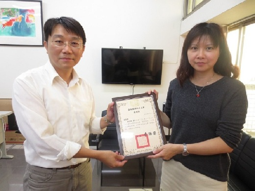 A lecture organized as part of the special employment program: Ms. Cheng Chia-Hua, director of the winner of the 2013 Golden Clock Award for children's television programs shares the highs and lows of working in the television industry
