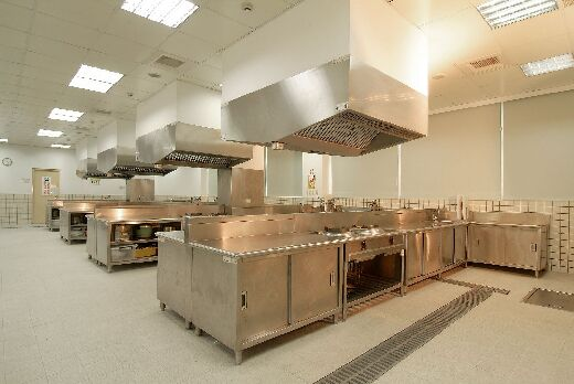 Training and testing facilities for Class B license certifications for Chinese cooking