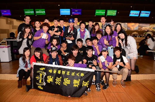 A bowling competition organized by the Student Association