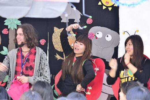The Grouchy Ladybug - student presentation at the 2014 Storytelling Carnival