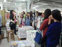 2013 special employment program in the English Publishing Industry: field trip to Shi-Yi Publishing Company