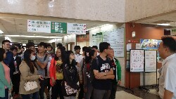 Teachers and students on a field trip to Jian Nan Psychiatric Center(JNPC), MOHW
