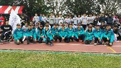 Group photograph on school sports day