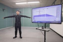 本系動作捕捉系統實驗室