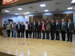 Tainan Mayor Mr. Lai Chin-De attends a forum on promoting a culture of safety in the construction industry