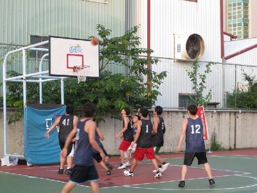 Student Association basketball competition