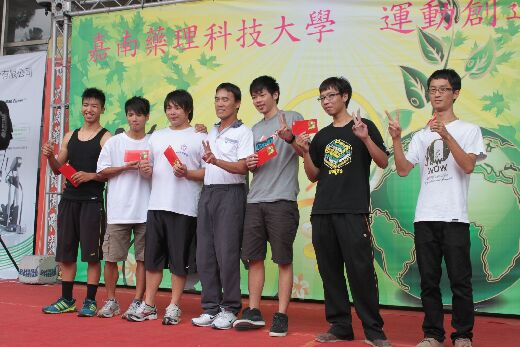 Champion team in a green energy competition, organized by the Student Association