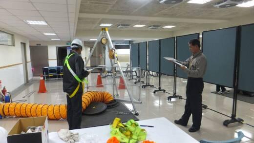 全國技術士技能檢定乙級下水道操作維護-管渠系統術科考試(2016.1.26-28)
