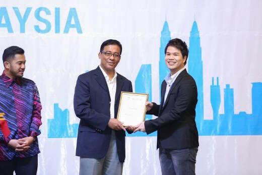 雙學位碩士班學生於第二屆國際水協會馬來西亞青年水專家研討會榮獲最佳口頭報告獎(2015.4.13)