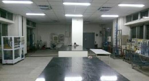 環工單元操作實驗室-「環工單元操作實驗」授課場所也作為「下水道設施操作維護-管渠系統」乙級技術士技能檢定場地