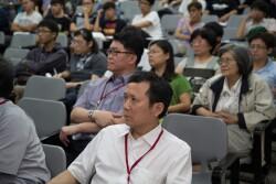 辦理「產業環保論壇」,讓學生了解產業發展趨勢、掌握脈動、吸收環保新知,以提升實務能力(2014.6.18)