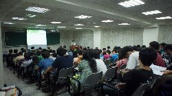 Information session on the e-learning platform for new students (2014)