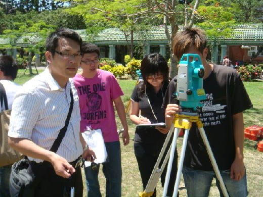 Training class for Class B Cadastral Survey certification exam