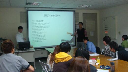Guest speaker at an employment conference, semester 2, 2012.