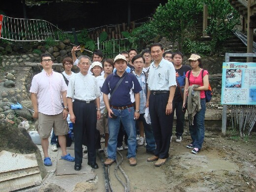 Field trip to Guanziling hot spring district