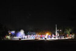 Party for new Freshmen at Wushantou Reservoir