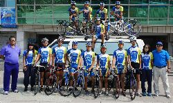 Cultivating professional cyclists (CNU cycling team)