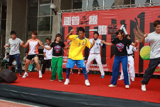 Professional, healthy, enthusiastic, energetic: an activity from the Department's Sports Week